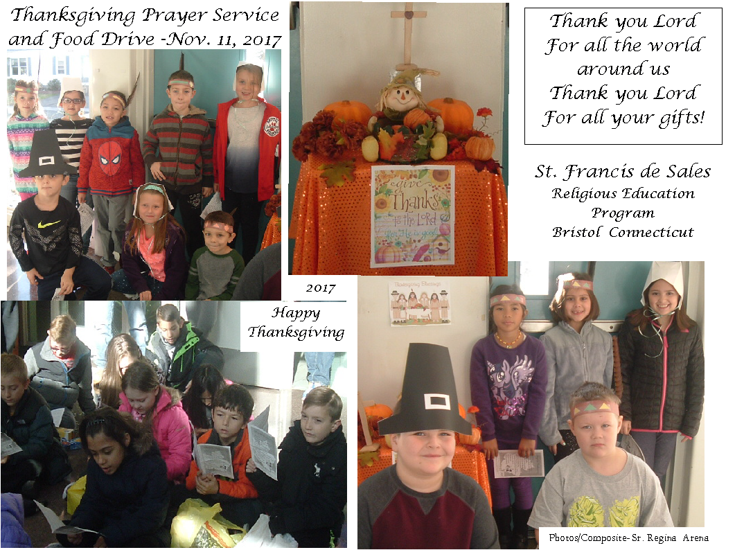 Thanksgiving Prayer Services Photos